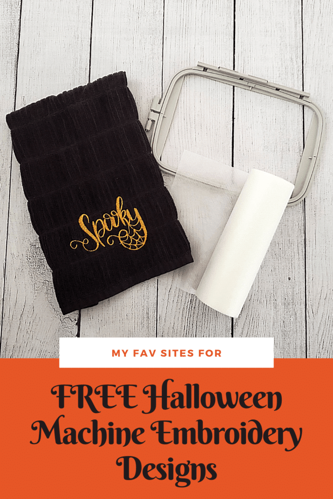 free halloween embroidery machine designs