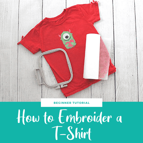 How to Embroider a T-Shirt – Machine Embroidery Tutorial