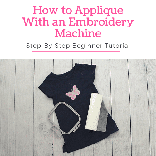 How to Applique With an Embroidery Machine – Tutorial