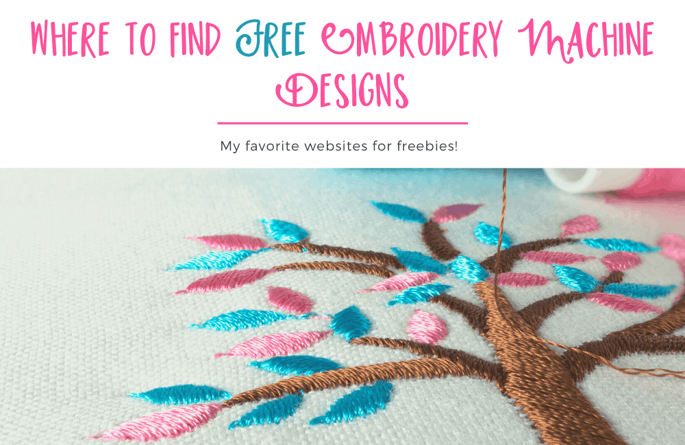 Downloading free embroidery designs