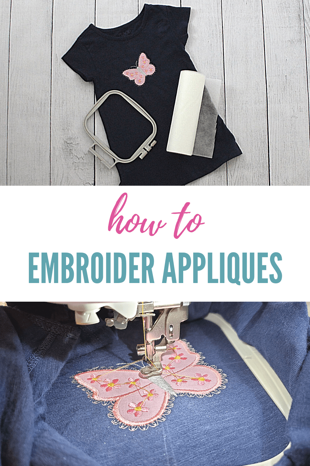 machine applique for embroidery beginners
