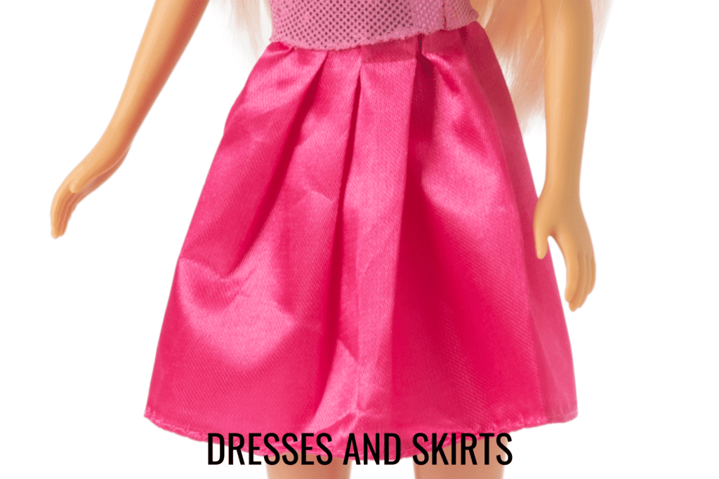 barbie dress and skirt patterns