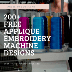 free applique designs for embroidery machine to download