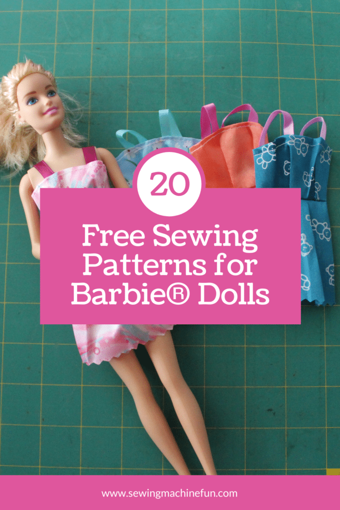 free barbie clothes sewing patterns