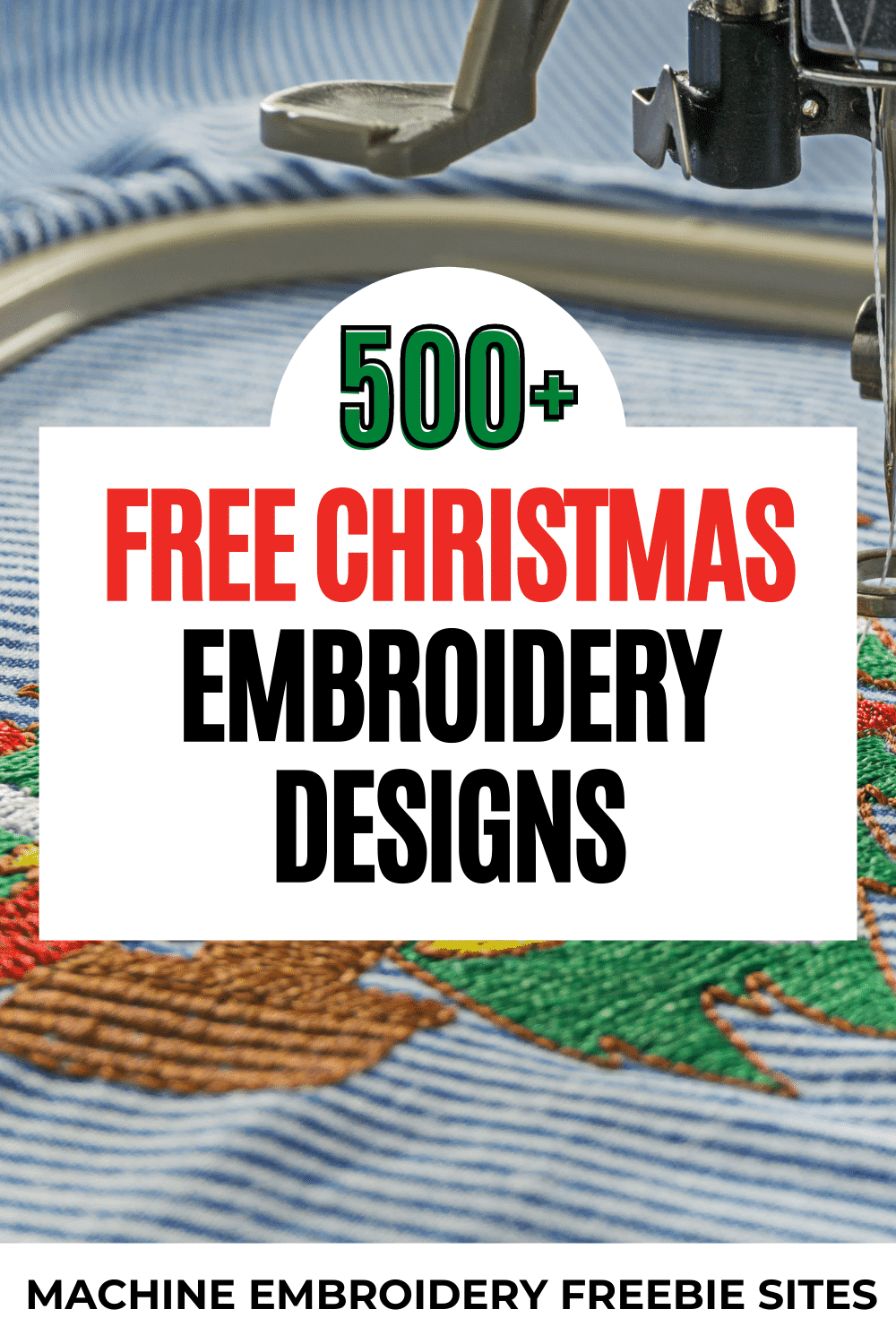 Free christmas machine embroidery designs