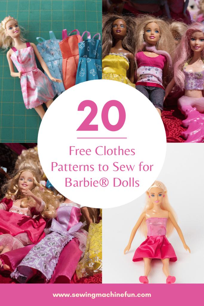 free printable barbie doll sewing patterns pdf