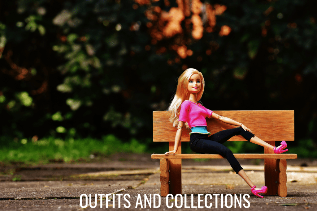full outfits for plastic fashion dolls like barbie
