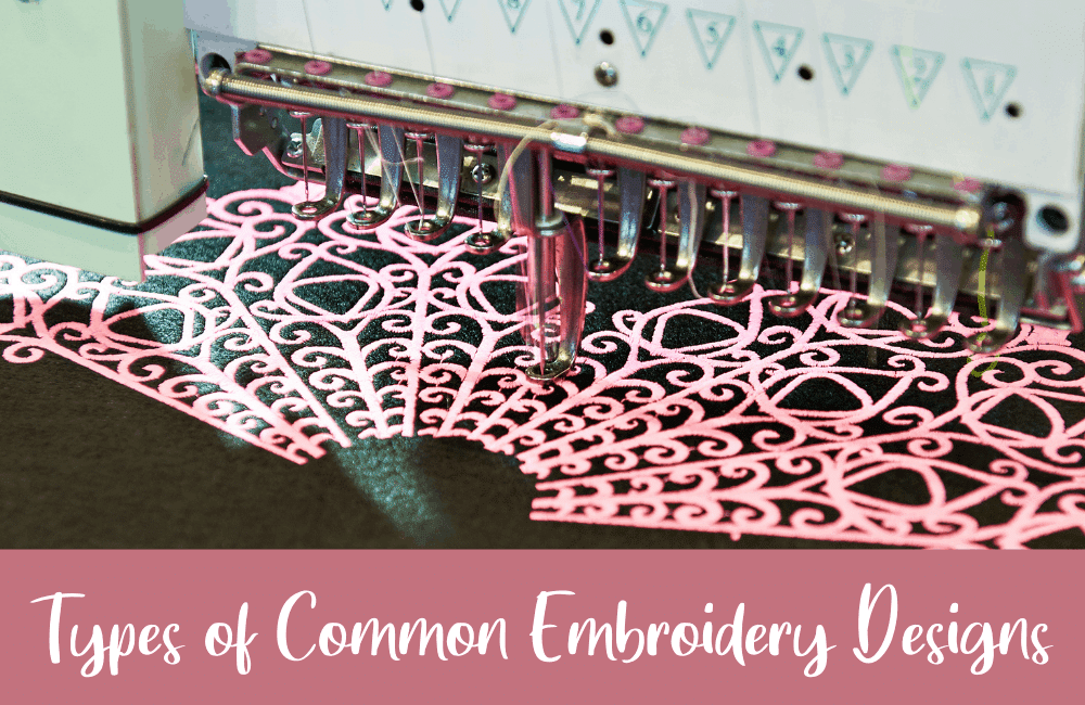 types of embroidery desigs