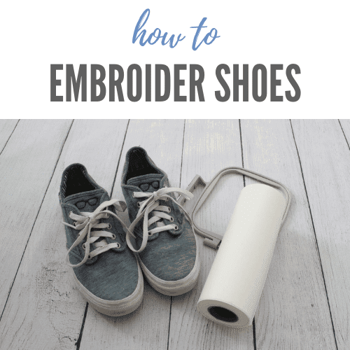 How to Machine Embroider Shoes – Beginner Tutorial