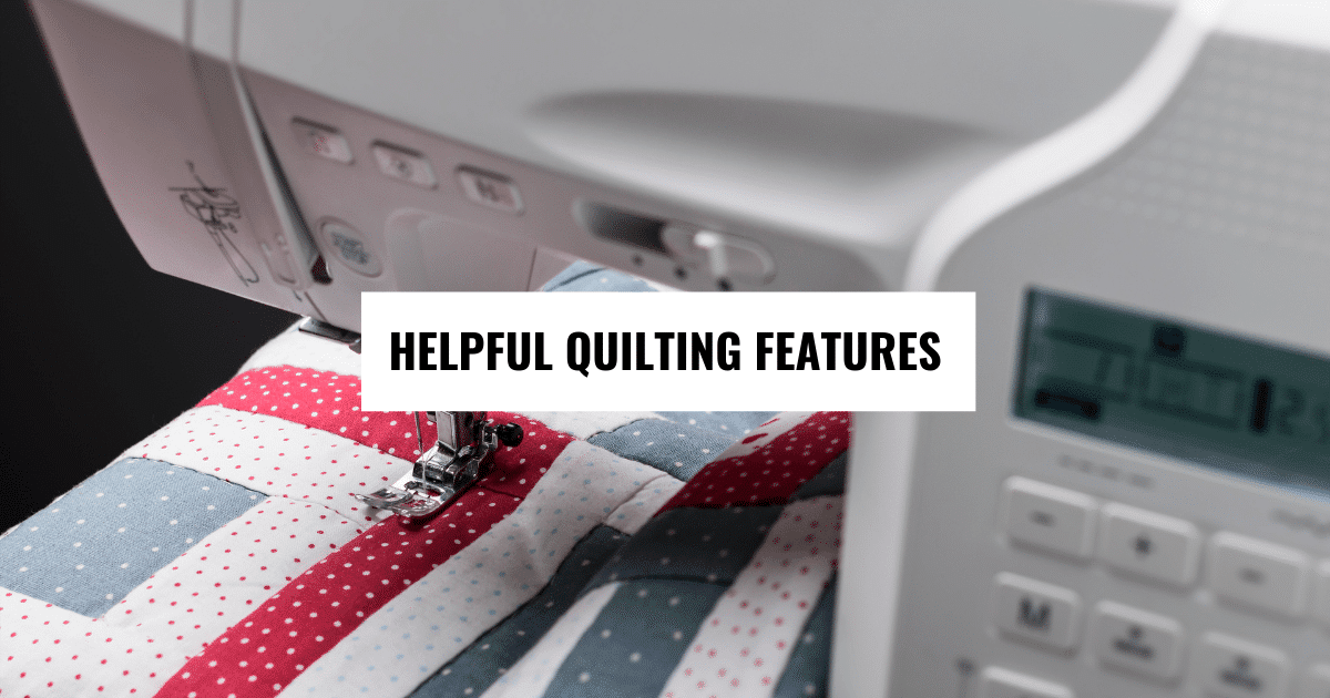 quilting machine that embroiders