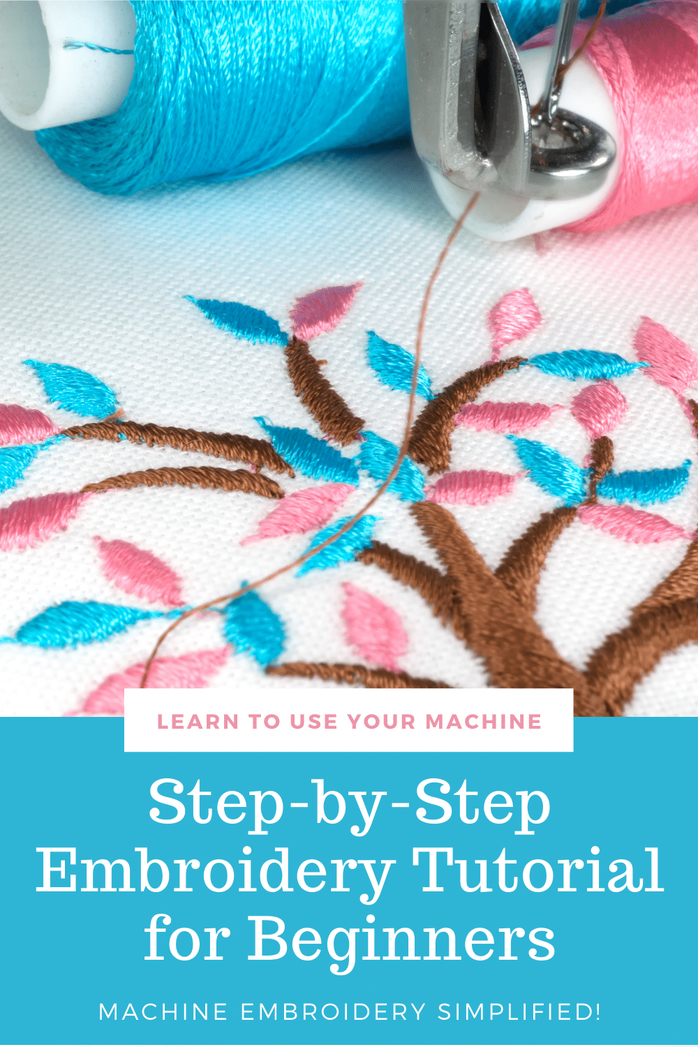 machine embroidery for beginners