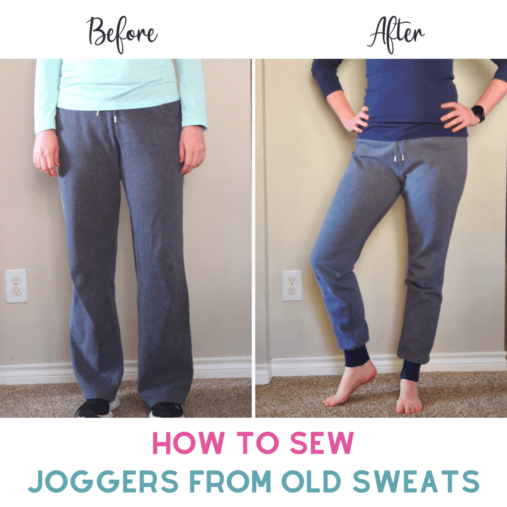 How to Turn SweatpAnts Into Joggers