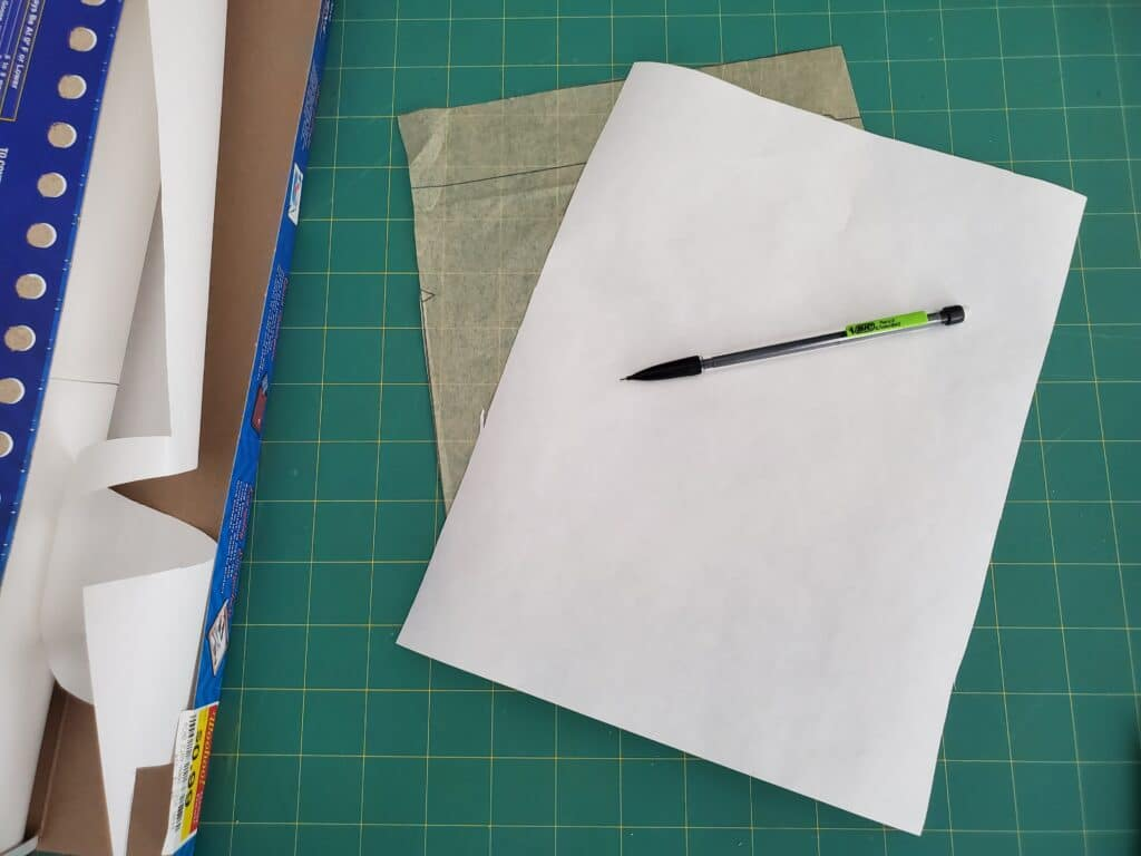 how to use freezer paper for tracing patterns
