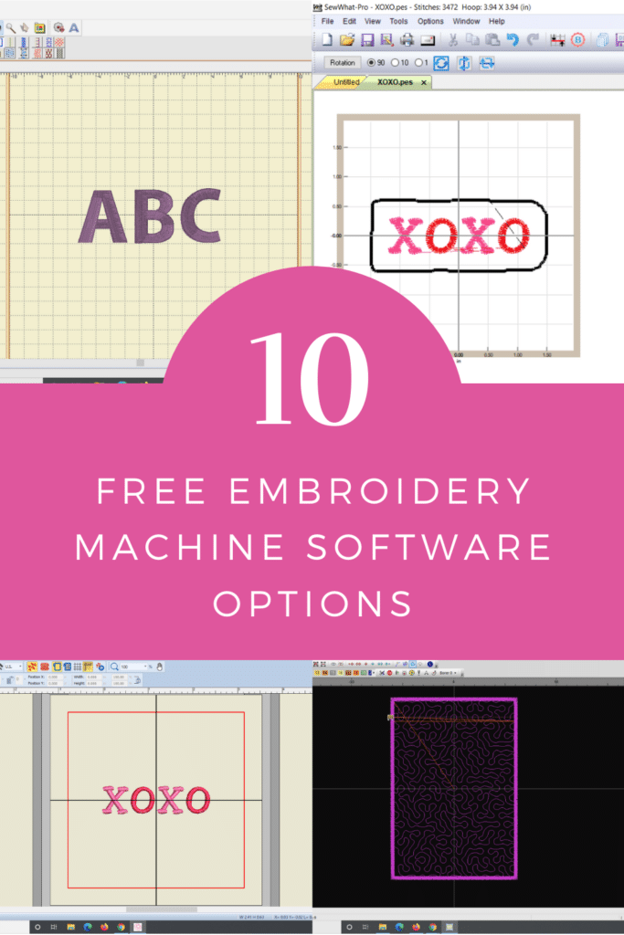 best free embroidery software