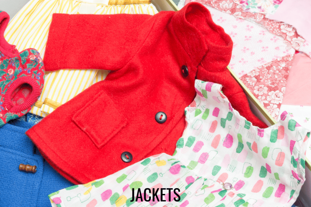 doll clothes jacket patterns