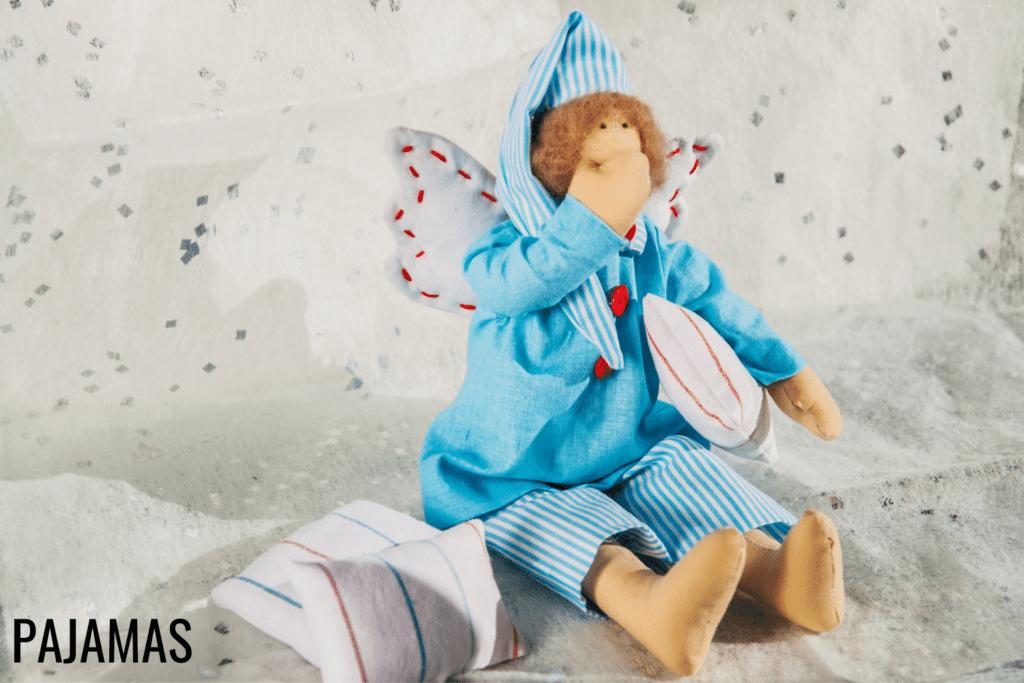 free doll pajama patterns