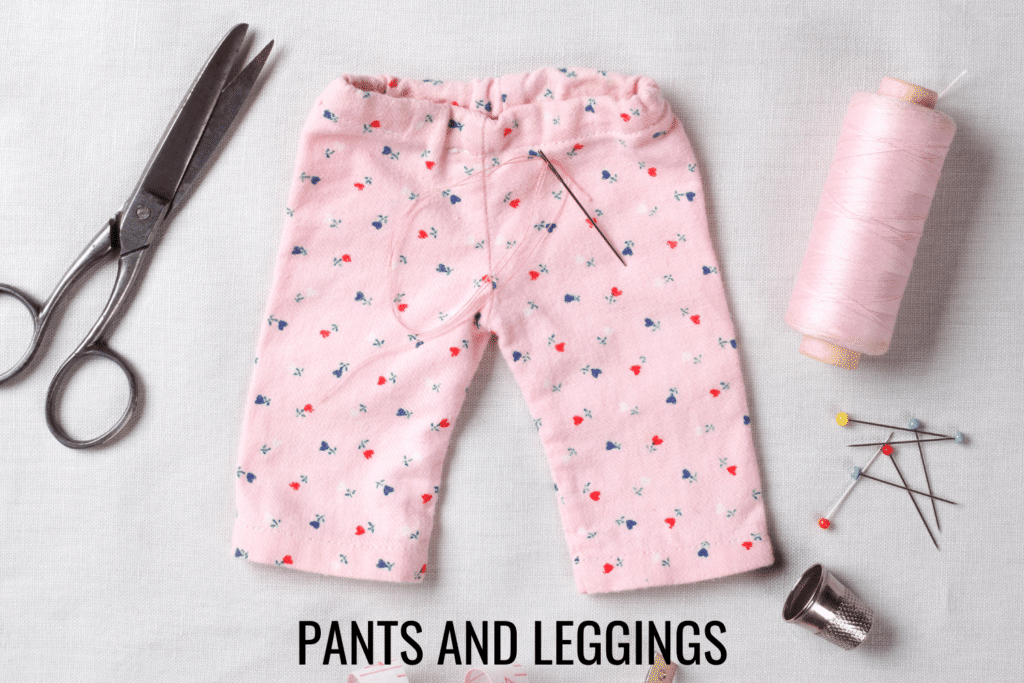 free doll shorts and skirts patterns
