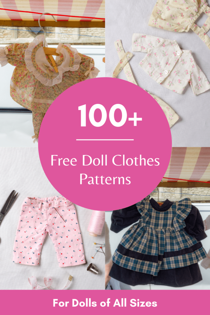 free printable doll clothes patterns