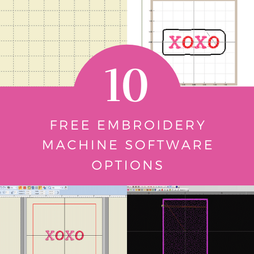 10 Best Free Embroidery Software for Digitizing and Editing