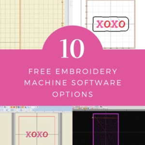 logo best free embroidery software