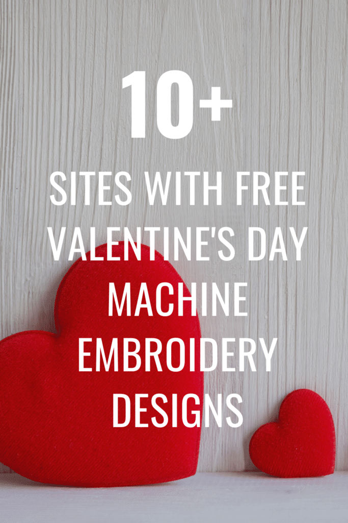 sites with free valentine's day embroidery designs