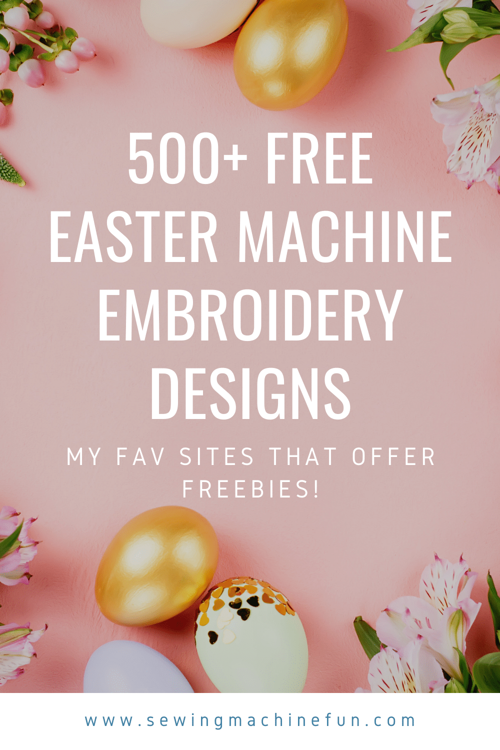500+ Free Easter Machine Embroidery designs