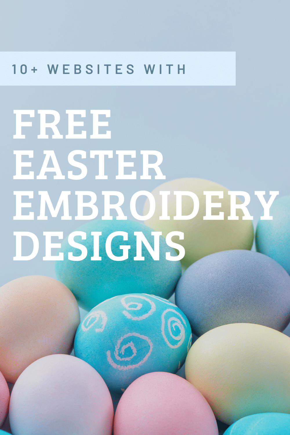 free easter embroidery designs