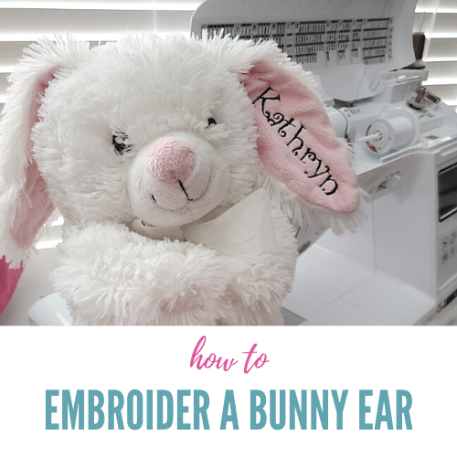 How to Embroider Bunny Ears & Other Stuffed Animals – Tutorial