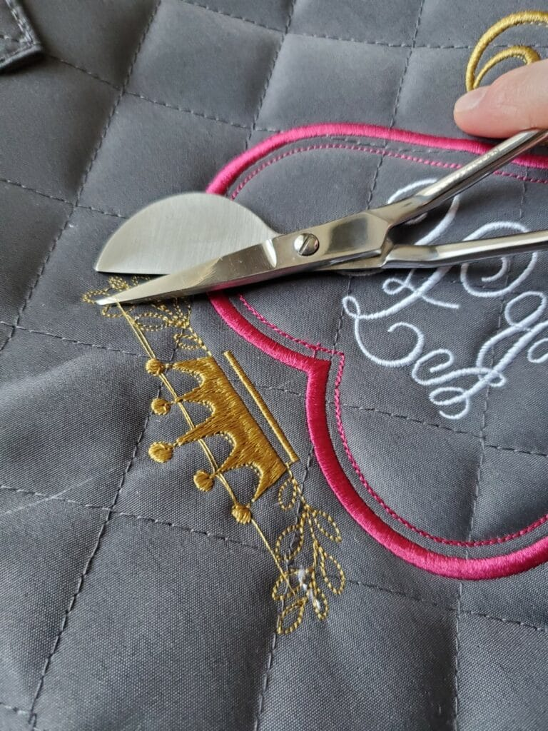 duckbill applique scissors