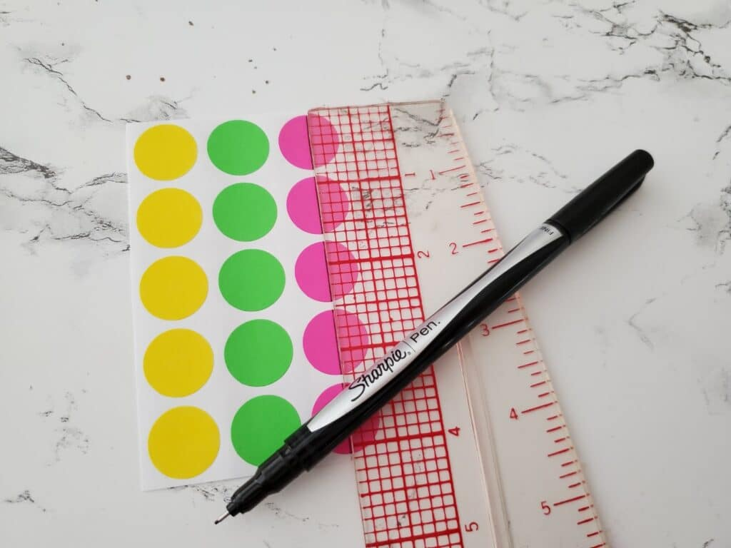 tools for making target stickers