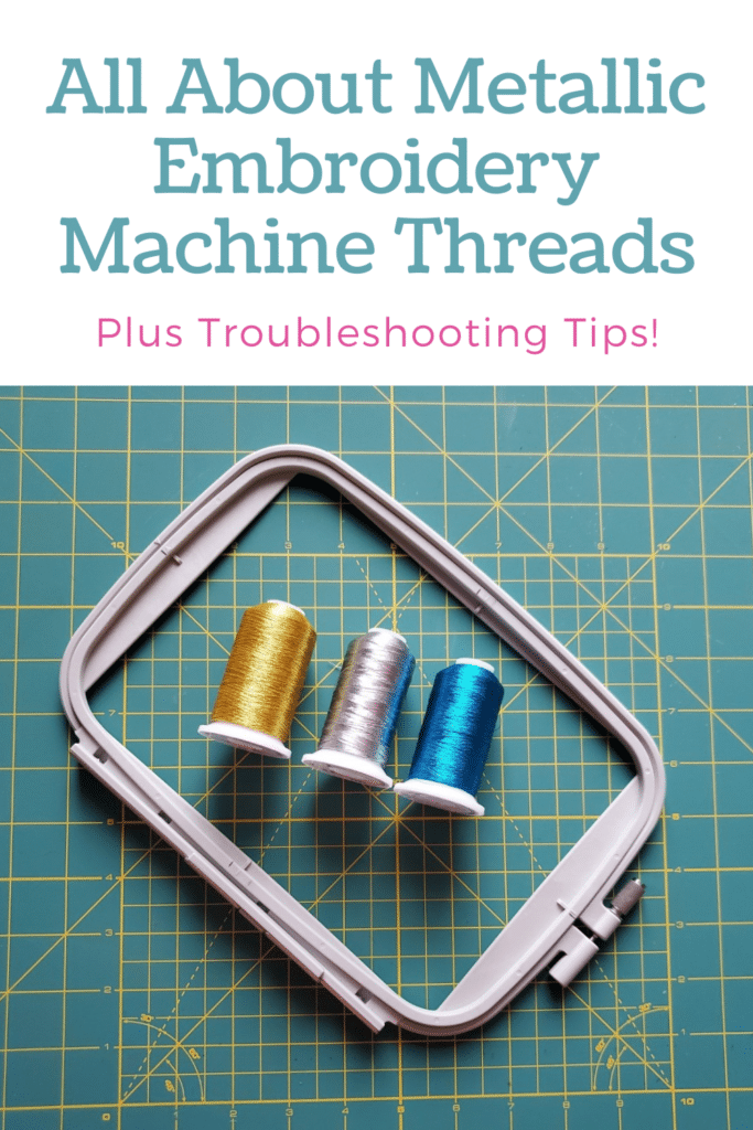 Everything You Ever Need to Know About Metallic Embroidery Machine Threads