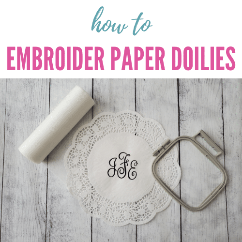 DIY Embroidered Doilies Tutorial – Fun Project Idea!