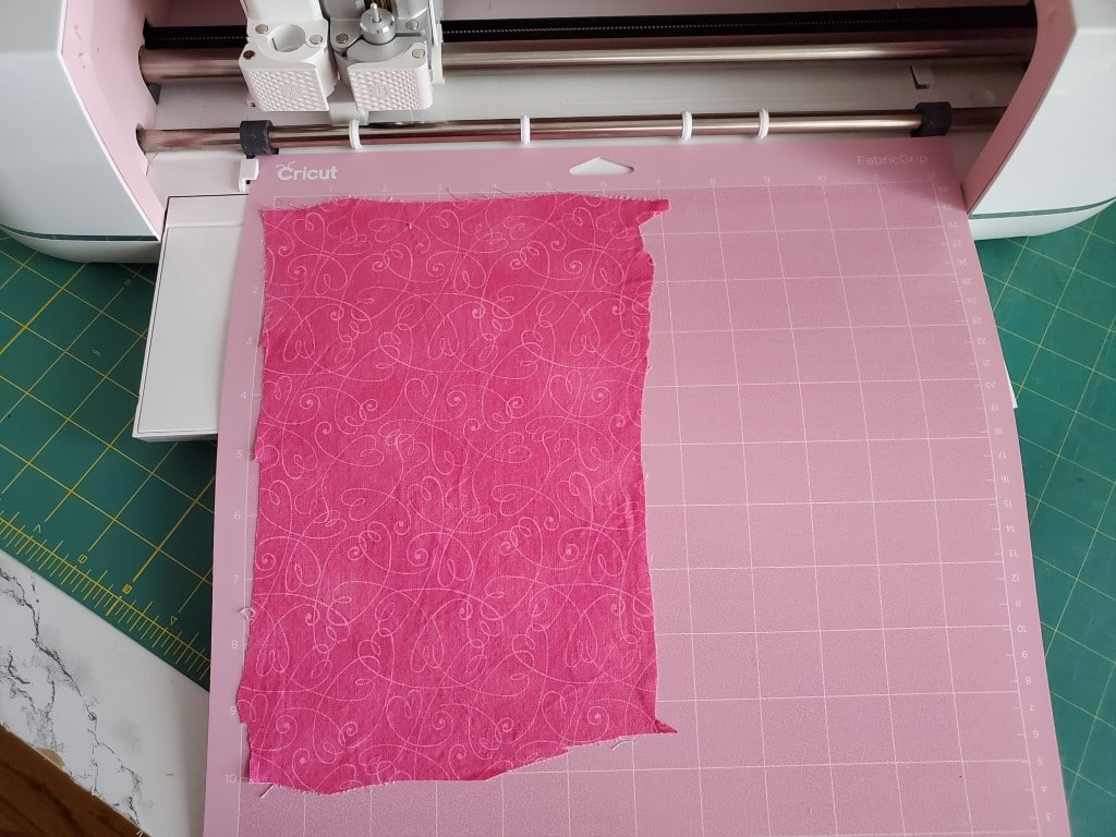 cutting fabric with cricut maker for applique