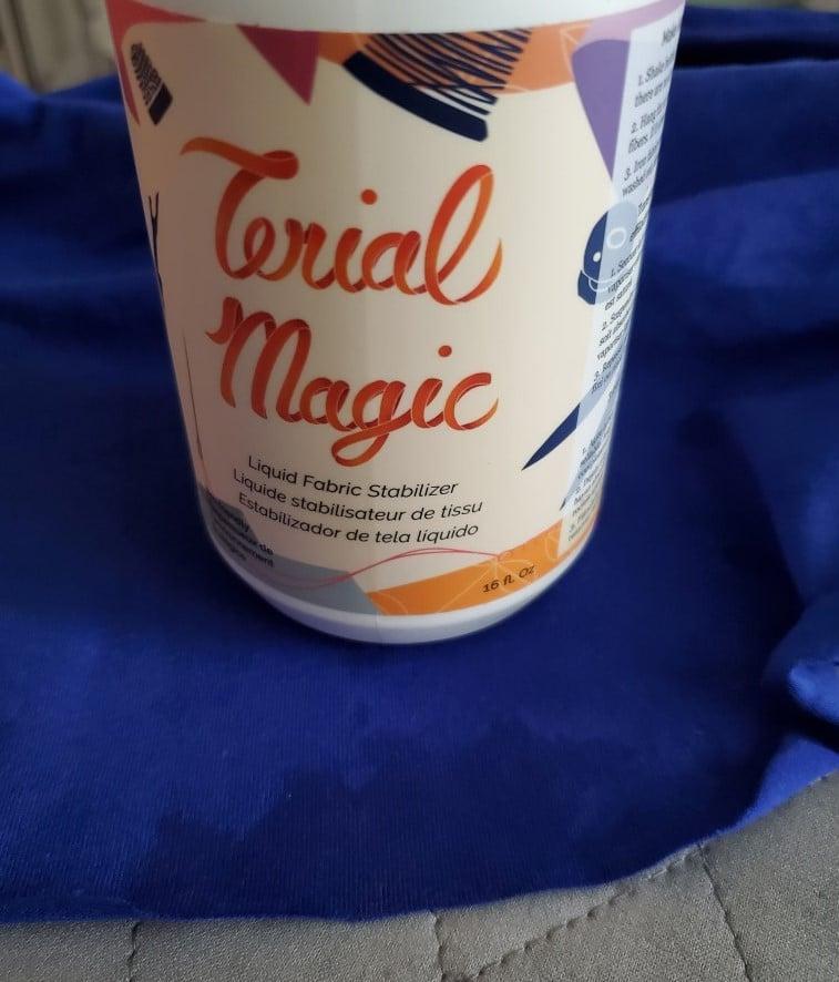using terial magic to decrease edge rolling
