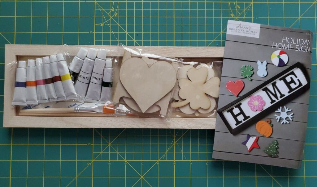 annie's creative women kit of the month club review & unboxing