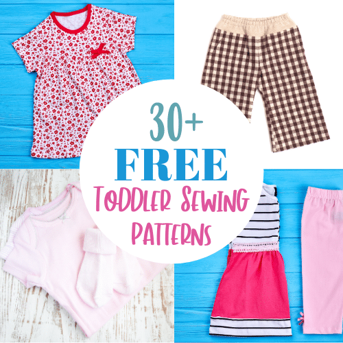 Free Toddler Sewing Patterns to Download – Girls AND Boys!