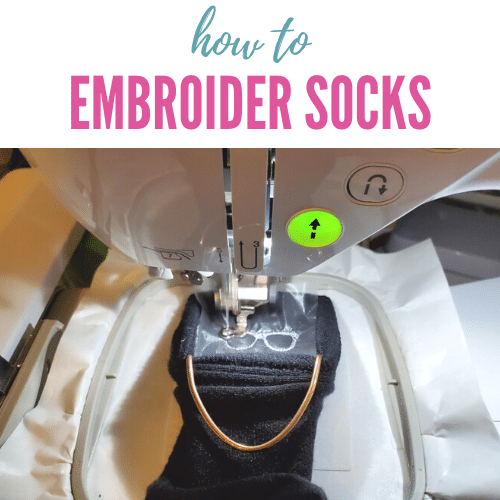 How to Embroider Socks on a Machine – Sock Hoop Tutorial