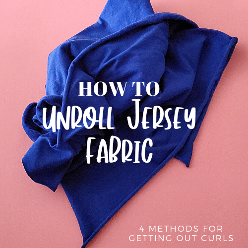 How to Stop Knit Fabric From Curling & Rolling – Oh Jersey!