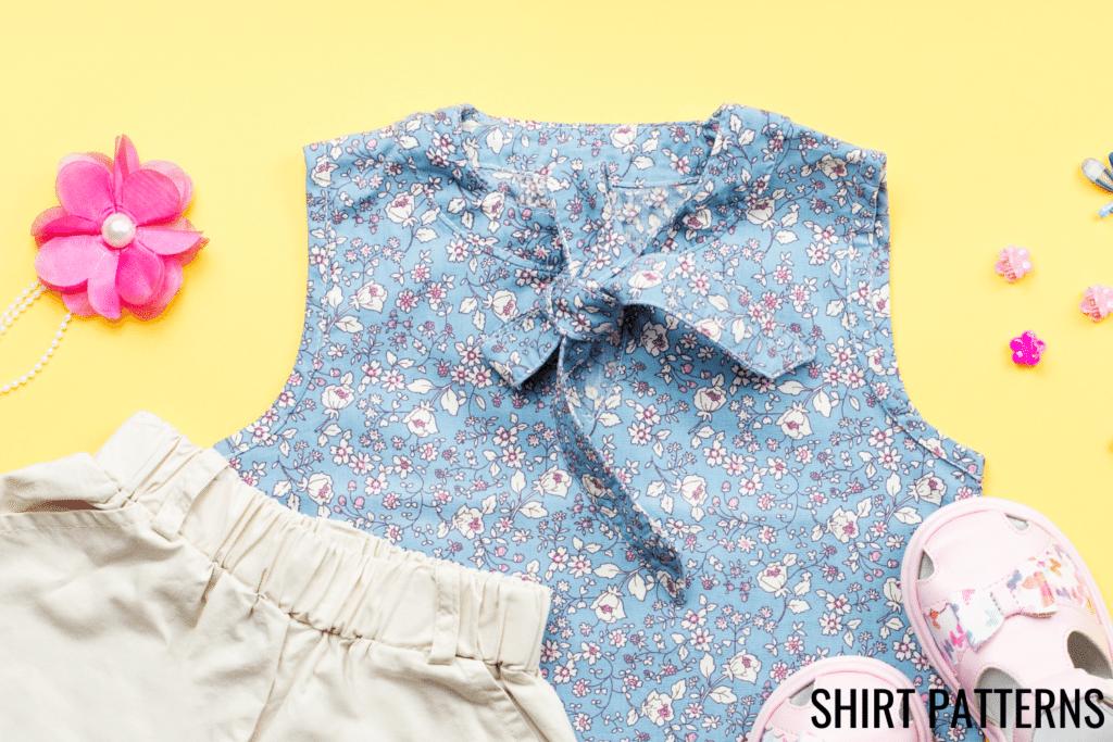 free toddler shirt patterns