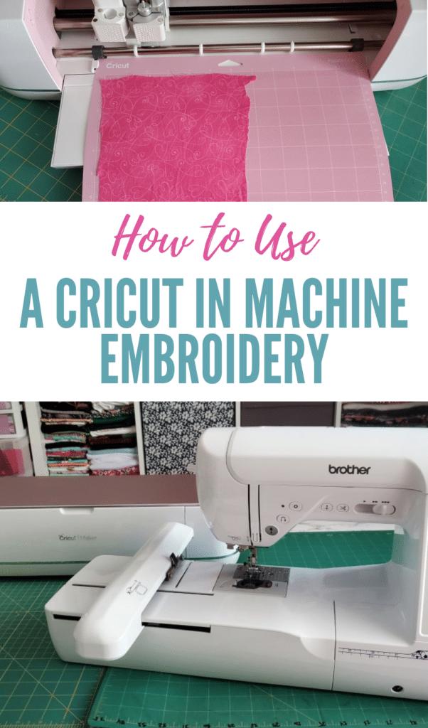 cricut embroidery machine uses