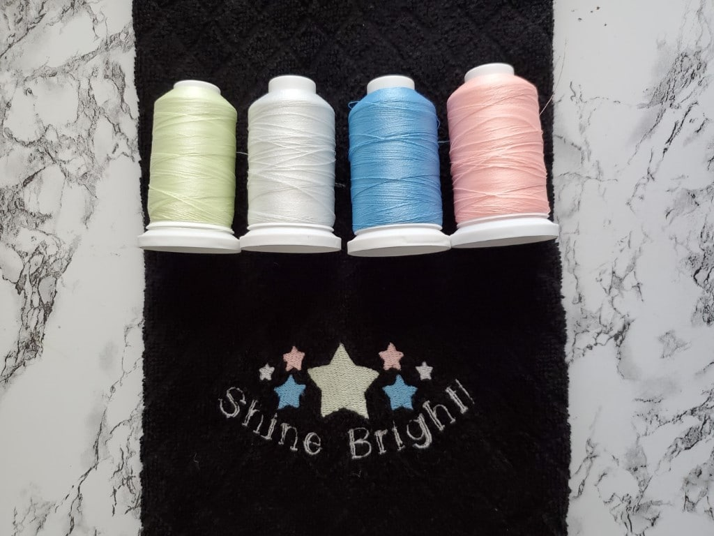glow-in-the-dark embroidery thread facts