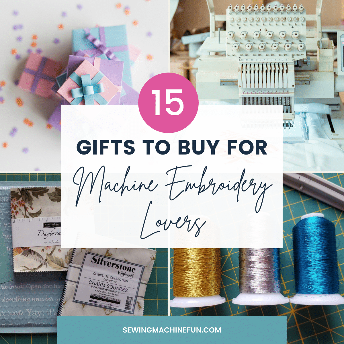 15 Gifts for Machine Embroiderers – Ideas They'll Love