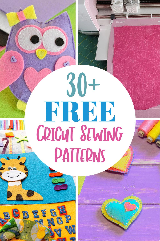 free cricut sewing patterns