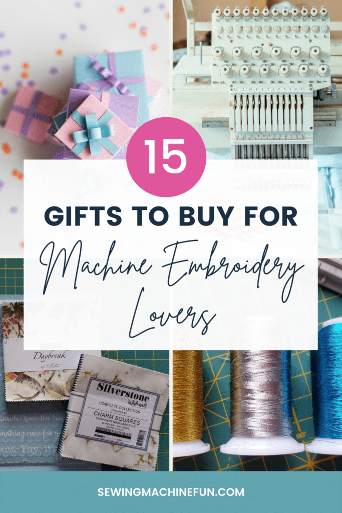 best gifts for machine embroiderers
