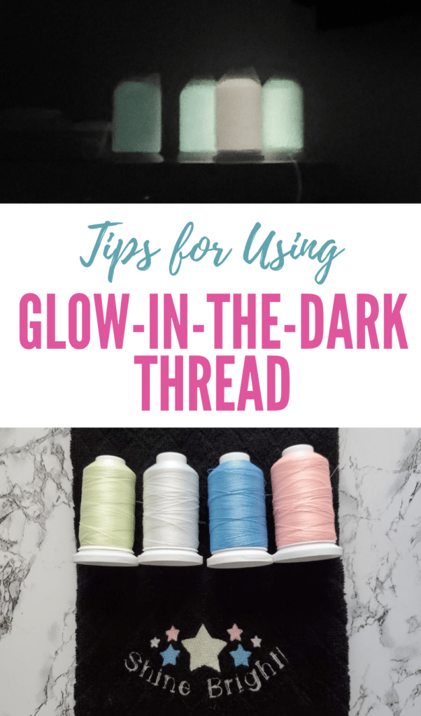 how to use glow-in-the-dark thread (1)