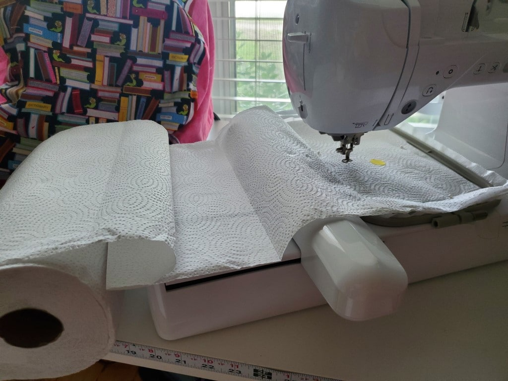 how to orient paper towels