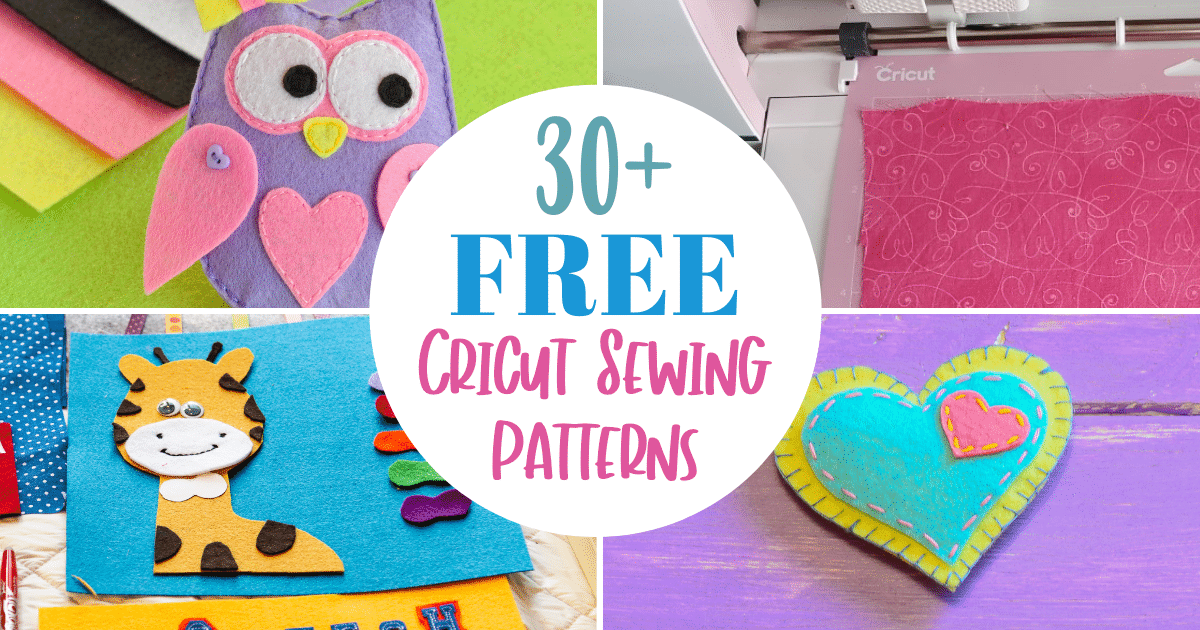 free sewing patterns for cricut maker