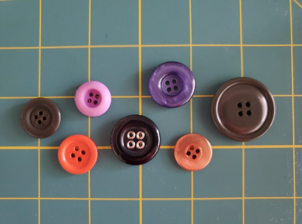 four hole sew-through buttons