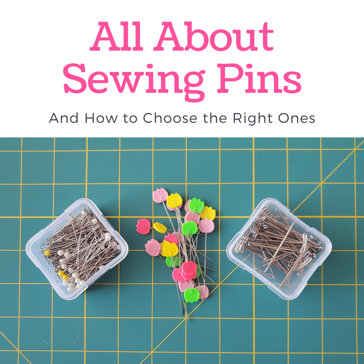 Different Types of Sewing Pins & Alternatives Explained