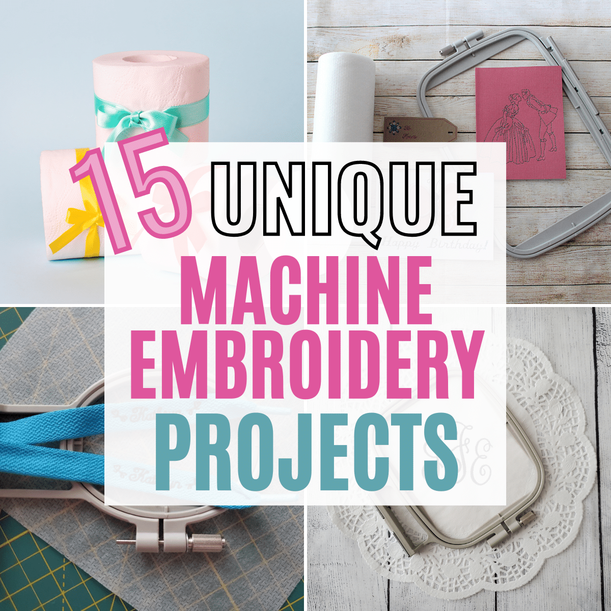 15 Unique Embroidery Ideas, Blanks, and Designs